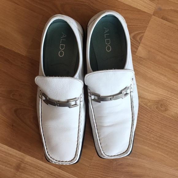 e81888dde6 Aldo Other - Aldo white mens loafers